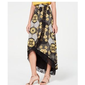 THALIA SODI High-Low Maxi Skirt